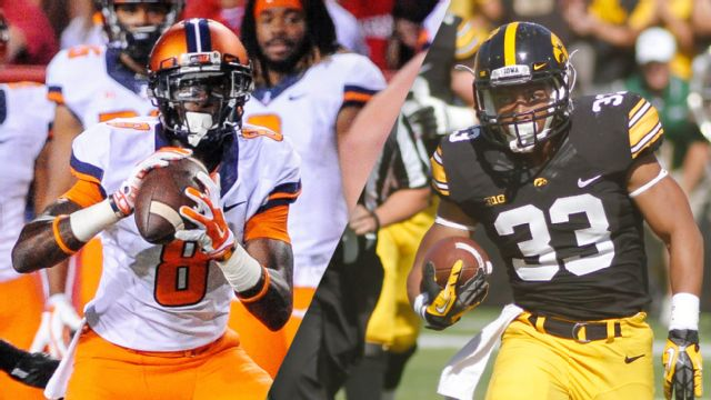 Illinois vs. #22 Iowa (Football)
