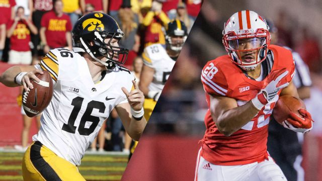 Iowa vs. #19 Wisconsin (Football) (re-air)