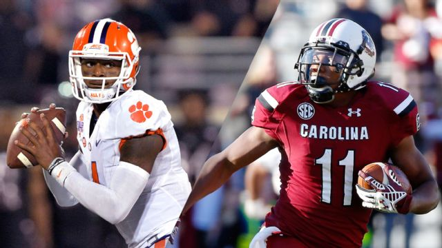 #1 Clemson vs. South Carolina (Football) (re-air)