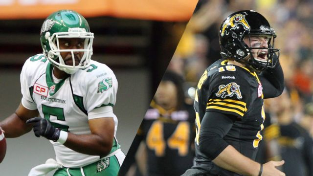 Saskatchewan Roughriders vs. Hamilton Tiger-Cats
