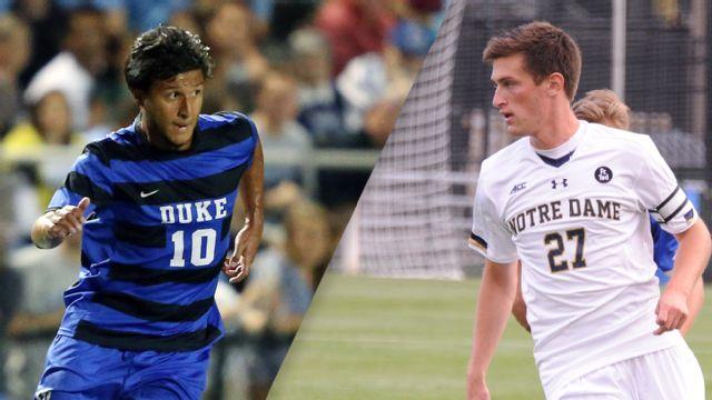 Duke vs. #7 Notre Dame (M Soccer)