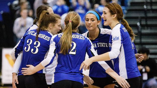 Indiana State vs. Loyola (IL) (W Volleyball)