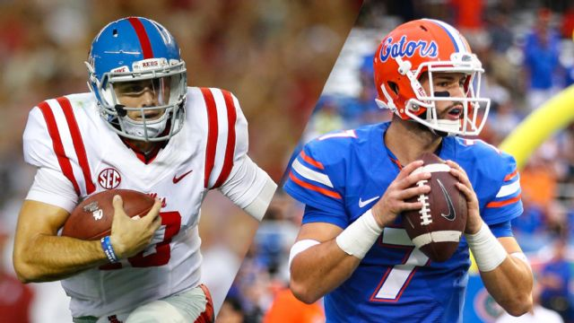 #3 Ole Miss vs. #25 Florida (Football) (re-air)