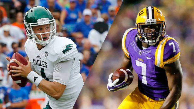 Eastern Michigan vs. #9 LSU (Football) (re-air)