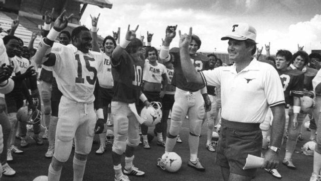 Oklahoma Sooners vs. Texas Longhorns - 10/10/1981 (re-air)
