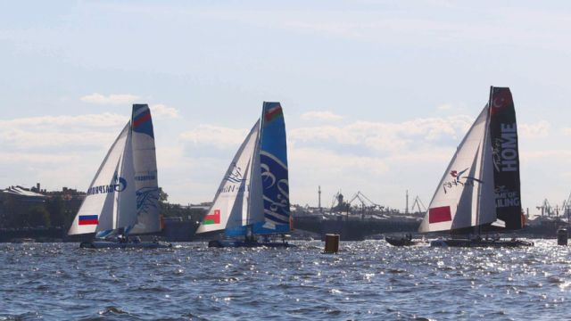 Extreme Sailing Series: Istanbul