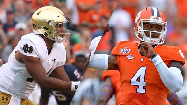 #6 Notre Dame vs. #12 Clemson (Football)