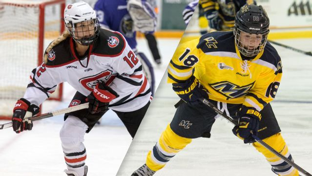 St. Cloud State vs. Merrimack (W Hockey)