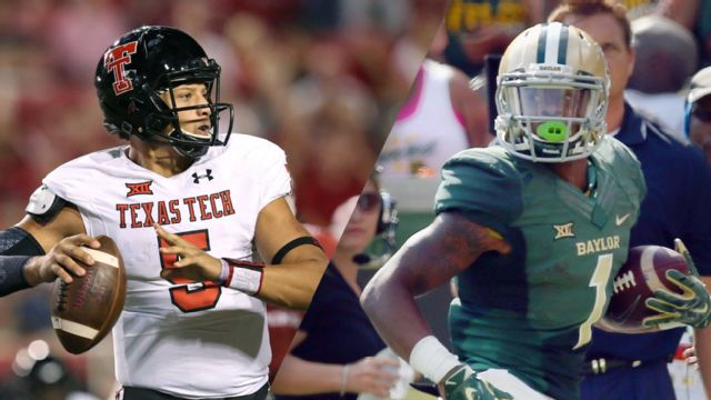 Texas Tech vs. #5 Baylor (Football)