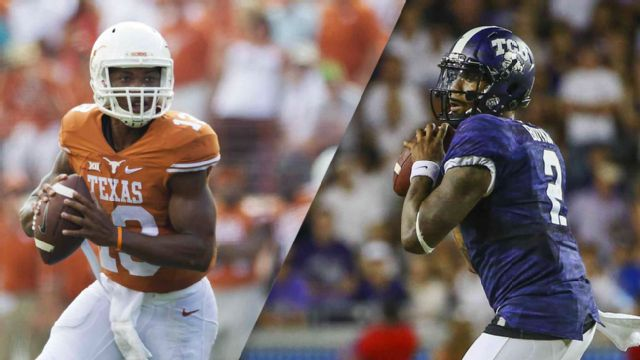 Texas vs. #4 TCU (re-air)