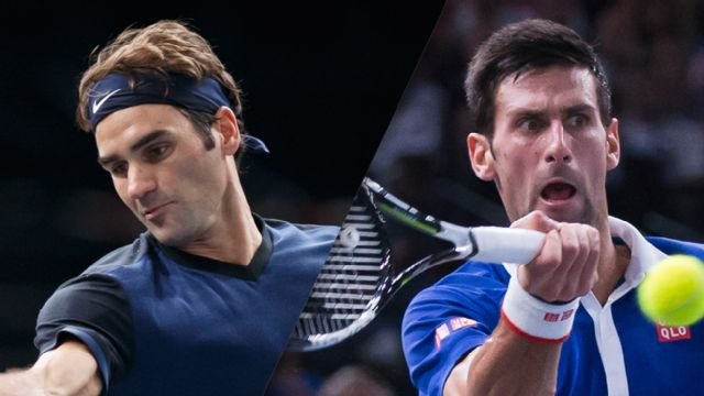 (3) R. Federer vs. (1) N. Djokovic (Championship)
