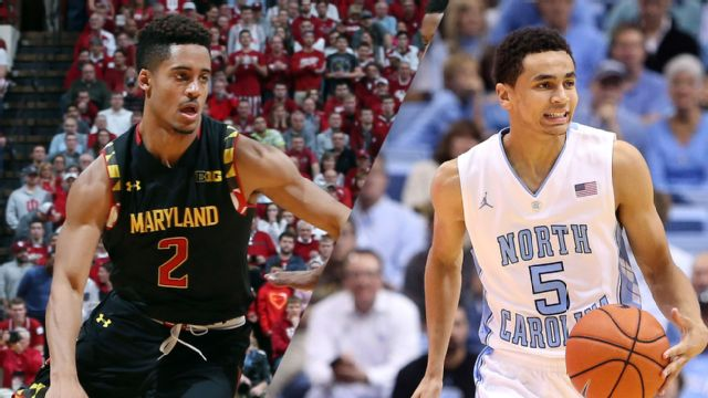 #2 Maryland vs. #9 North Carolina (M Basketball)