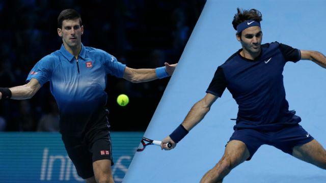 In Spanish - Novak Djokovic (SRB) vs. Roger Federer (SUI) (Final)