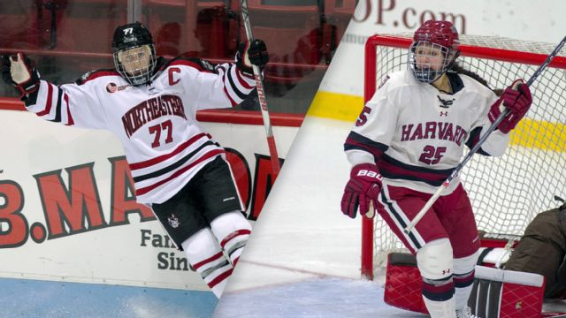 Northeastern vs. Harvard (W Hockey)
