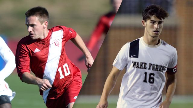 #16 Indiana vs. #1 Wake Forest (Third Round) (M Soccer)