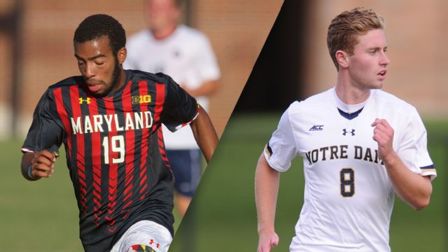 #10 Maryland vs. #7 Notre Dame (Third Round) (M Soccer)