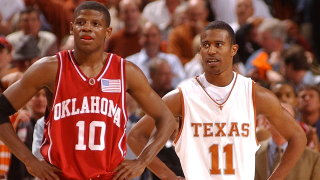 #5 Oklahoma vs. #6 Texas - 2/10/2003 (re-air)