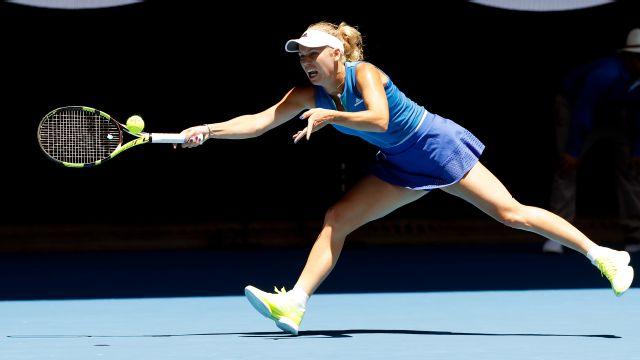 (9) J. Konta vs. (17) C. Wozniacki (Women's Third Round)