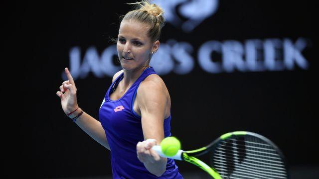 (5) K. Pliskova vs. J. Ostapenko (Women's Third Round)