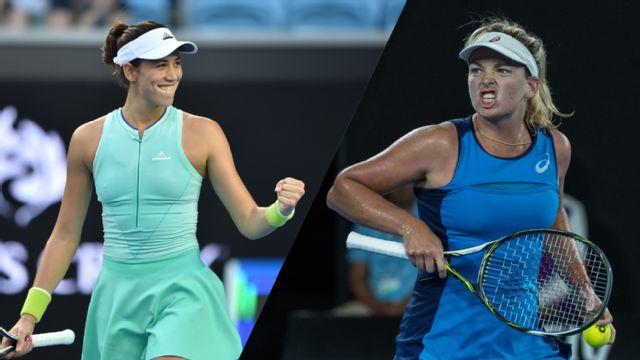 (7) G. Muguruza vs. C. Vandeweghe (Women's Quarterfinals)