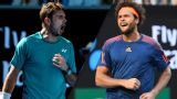 (4) S. Wawrinka vs. J. Tsonga (Men's Quarterfinals)