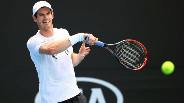 (1) A. Murray vs. A. Rublev (Men's Second Round)