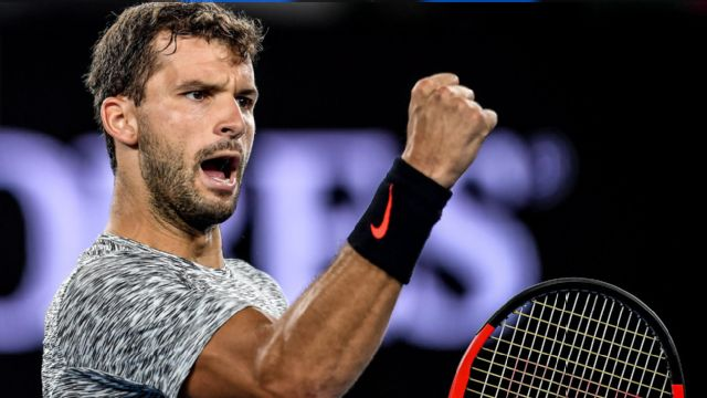 (15) G. Dimitrov vs. D. Istomin (Men's Round of 16)
