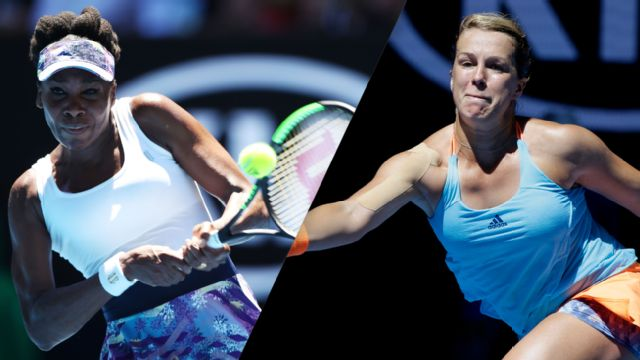 (13) V. Williams vs. (24) A. Pavlyuchenkova (Women's Quarterfinals)