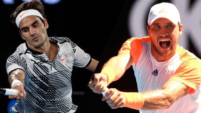 (17) R. Federer vs. M. Zverev (Men's Quarterfinals)