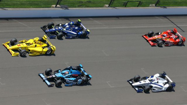The 100th Indianapolis 500 telecast presented by Firestone