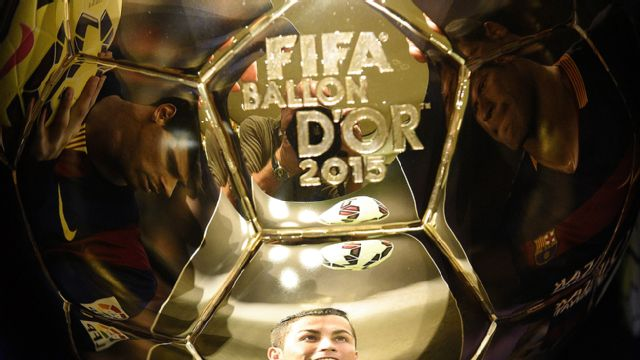 In Spanish - FIFA Balon D'OR