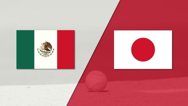 In Spanish - México vs. Japón (Exhibicion) (Baseball)
