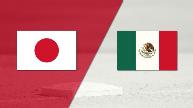 In Spanish - México vs. Japón (Exhibicion) (Baseball)