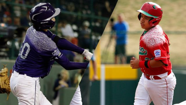 Pearland, Texas vs. Mexicali Baja California, Mexico (Consolation (3rd Place) Game) (Little League World Series)