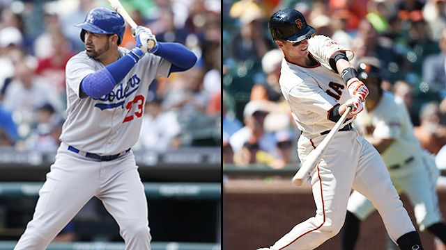 Los Angeles Dodgers vs. San Francisco Giants (re-air)