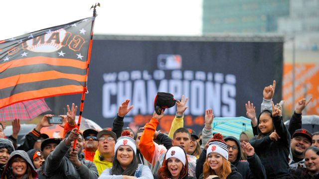 2014 World Series Champion San Francisco Giants Homecoming Parade