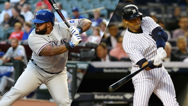 Texas Rangers vs. New York Yankees (re-air)