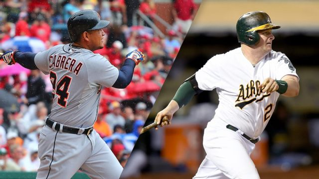 Detroit Tigers vs. Oakland Athletics (re-air)