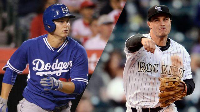 In Spanish - Los Angeles Dodgers vs. Colorado Rockies