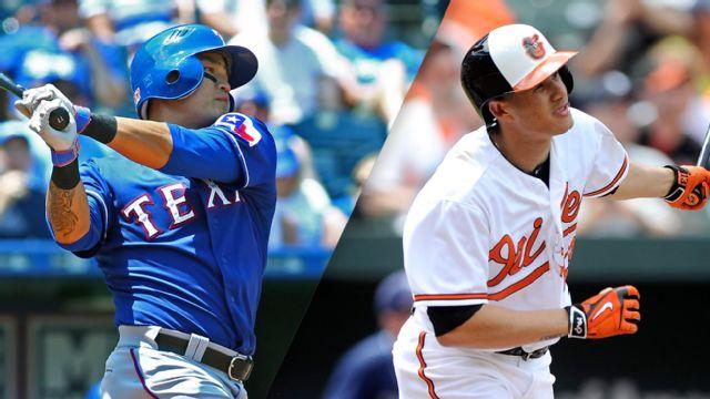 In Spanish - Texas Rangers vs. Baltimore Orioles