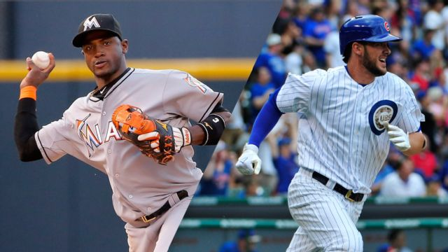 In Spanish - Miami Marlins vs. Chicago Cubs