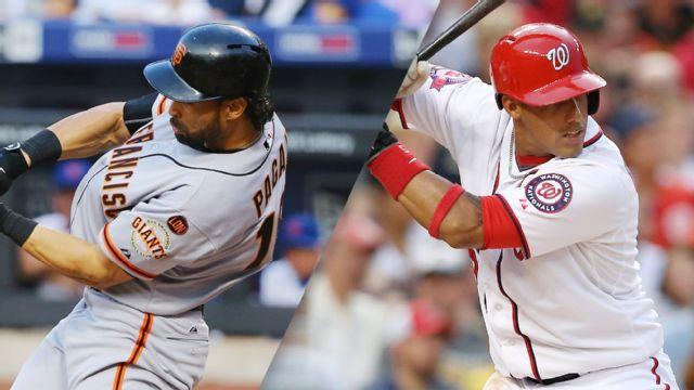 In Spanish - San Francisco Giants vs. Washington Nationals