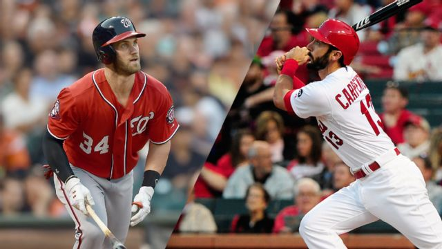 Washington Nationals vs. St. Louis Cardinals (re-air)