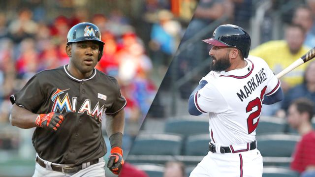 In Spanish - Miami Marlins vs. Atlanta Braves