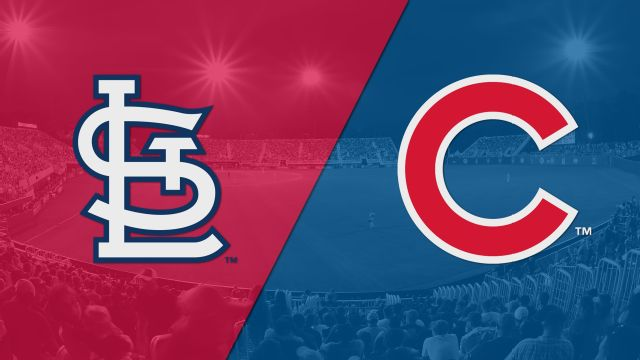 In Spanish - St. Louis Cardinals vs. Chicago Cubs