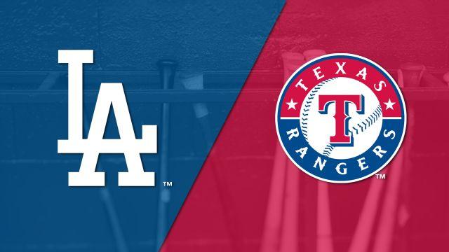Los Angeles Dodgers vs. Texas Rangers