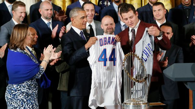 Chicago Cubs White House Visit