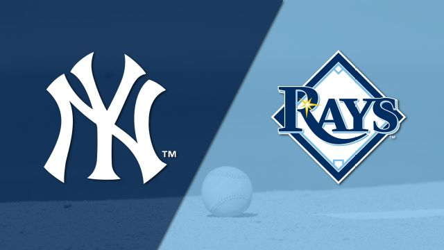 In Spanish - New York Yankees vs. Tampa Bay Rays