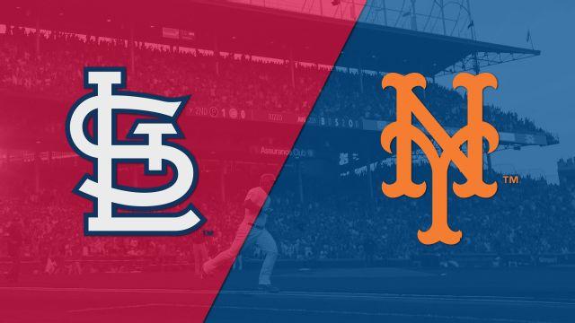 In Spanish - St. Louis Cardinals vs. New York Mets
