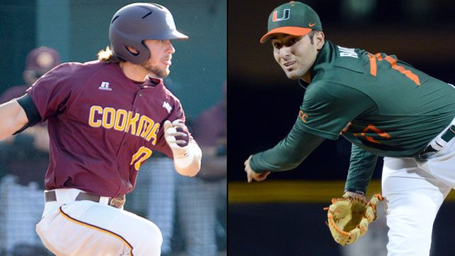 #4 Bethune-Cookman vs. #1 Miami (Site 10 / Game 2)
